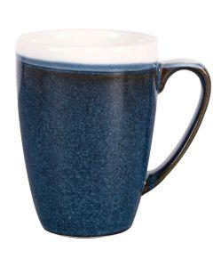 Churchill Monochrome Mug 12oz Sapphire Blue