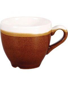 Churchill 3.5oz Monochrome Espresso Cup Cinnamon Brown