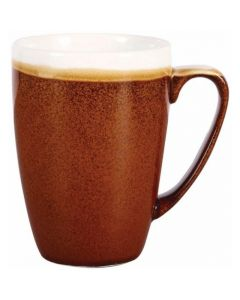 Churchill 12oz Monochrome Mug Cinnamon Brown