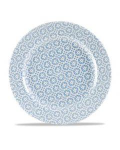 """Moresque Blue Plate 10.6"""""""