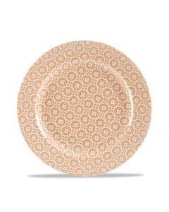 """Moresque Orange Plate 10.6"""""""