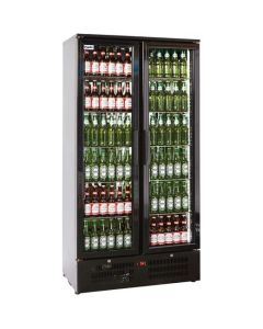 Prodis NT20 Black Double Upright Bottle Cooler