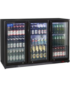 Prodis NT3BH Black Hinged Bottle Cooler