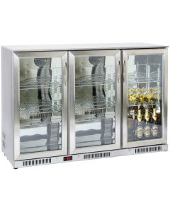 Prodis NT3ST Stainless Steel Bottle Cooler Triple Door