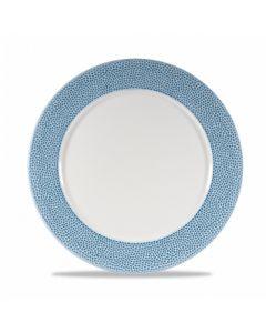 "Churchill Isla Presentation Plate 12"" Ocean Blue"
