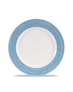 "Churchill Isla Plate 8.25"" Ocean Blue"