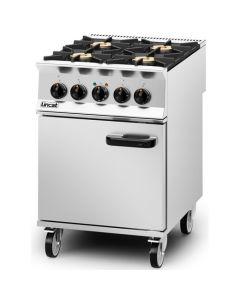 Lincat Opus 800 4 Burner NAT Gas Dual Fuel Oven OD8006/N