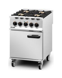 Lincat Opus 800 4 Burner LPG Gas Dual Fuel Oven OD8006/P