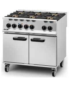 Lincat Opus 800 6 Burner NAT Gas Dual Fuel Oven OD8007/N