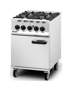 Lincat Opus 800 4 Burner Nat Gas Oven OG8001/N