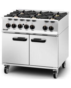 Lincat Opus 800 6 Burner NAT Gas Oven OG8002/N