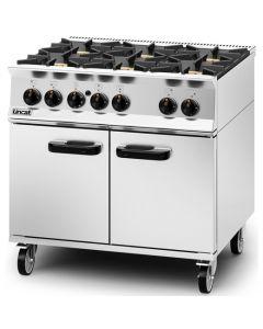 Lincat Opus 800 6 Burner LPG Gas Oven OG8002/P