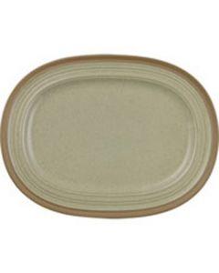 "Churchill Art De Cuisine Igneous - Oval Plate 12.5"""