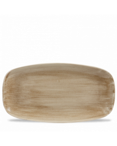 Antique Taupe Chefs' Oblong Plate