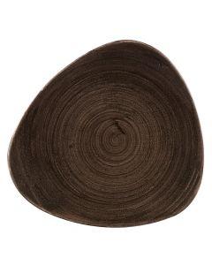 "Iron Black Triangle Plate 9"""