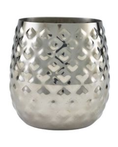 Stainless Steel Pineapple Cup 15.5oz