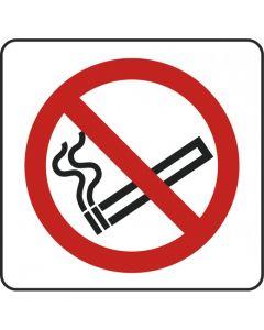 No Smoking Symbol Sign - Self Adhesive Vinyl