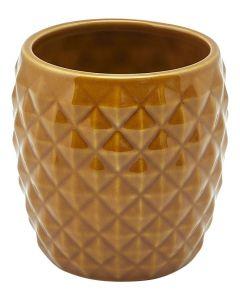 Brown Pineapple Tiki Mug