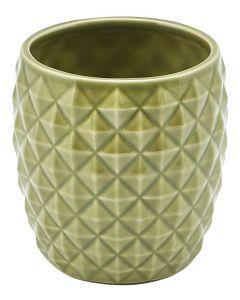 Green Pineapple Tiki Mug