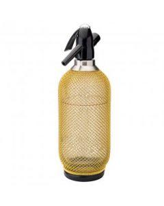 Harlequin Gold Soda Siphon