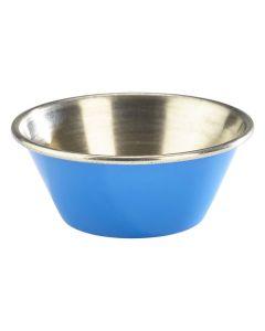 Blue Stainless Steel Ramekin 1.5oz
