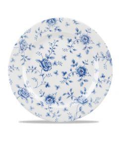 "Prague Rose Chintz Plate 12"""
