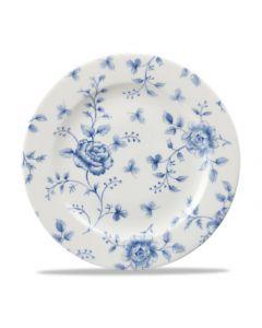 "Prague Rose Chintz Plate 10.8"""
