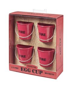 """Red """"Fire"""" Egg Cup Pails"""