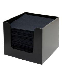 Bar Napkin Holder Plastic Black
