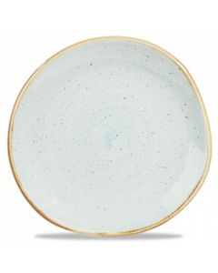 "Churchill Stonecast Organic Round Plate 7.25"" Duck Egg Blue"