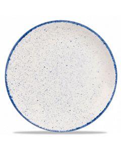"Hints Indigo Blue Coupe Plate 6.5"""