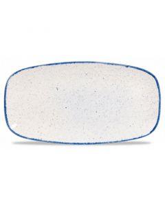 "Hints Indigo Blue Oblong Platter 14"""