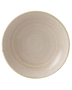 "Churchill Stonecast Coupe Bowl 9.75"" Nutmeg Cream"