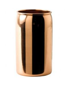 Solid Copper Beer Can with Nickel Lining 14.75oz