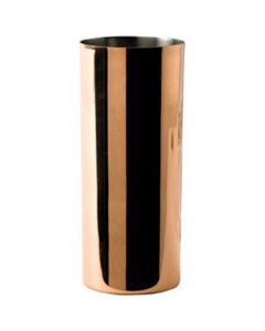 Solid Copper Collins Glass with Nickel Lining 14.75oz