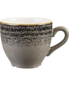Churchill Homespun Espresso Cup 3.5oz Charcoal Black