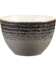 Churchill Homespun Sugar Bowl 8oz Charcoal Black