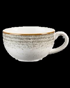 Churchill Homespun Cappuccino Cup 8oz Stone Grey