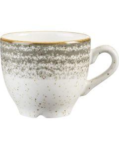 Churchill Homespun Espresso Cup 3.5oz Stone Grey