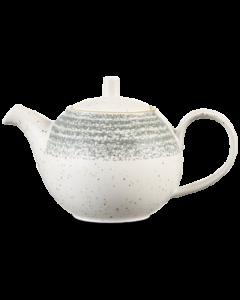 Churchill Homespun Beverage Pot 15oz Stone Grey