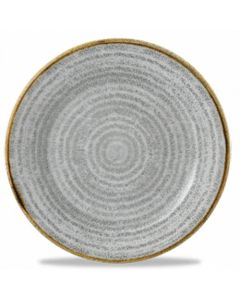 "Churchill Homespun Plate 8.25"" Stone Grey"