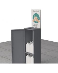 Hand Sanitiser Station with Single Pump