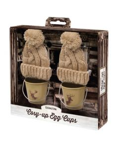 Cosy-Up Stag Egg Cup Pails