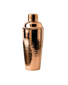 Stainless Steel Cocktail Shaker Copper Plated 26.5oz