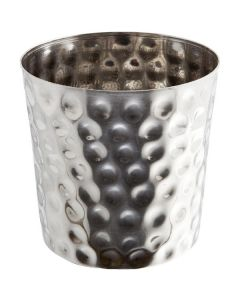 Stainless Steel Serving Cup Hammered
