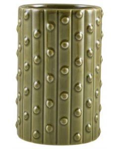 Green Cactus Tiki Mug