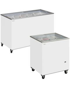 Tefcold Chest Freezers Glass Lid SC Range