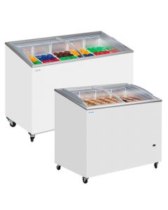 Tefcold Glass Lid Chest Freezers SCEB