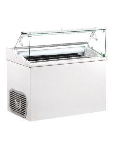 Framec Top Ice Cream Display 7x 5ltr Pans