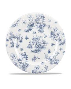 "Churchill Prague Toile Plate 12"""
